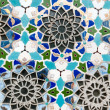 Colorful  mosaic wall — Stock Photo