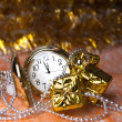 Watches are among the gifts — Stockfoto