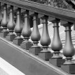Stock Photo: Balustrade monochrome
