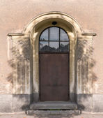 Entrance door from the street — Stockfoto