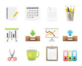 Office Icons Set 3 — Stock Vector