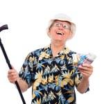 Happy wealthy senior man — Stock Photo #12887321