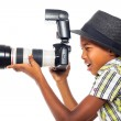 Child photographer — Stock Photo #14725787