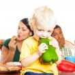 Stock Photo: Child healthy eating