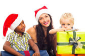 Happy Christmas family — Stock Photo
