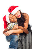 Christmas happiness — Stock Photo