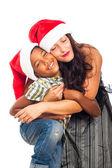 Felicidade de natal — Foto Stock
