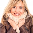 Ecstatic womin winter jacket — Stock Photo #15235833