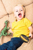 Playful child — Stock Photo