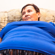 Stock Photo: Obese senior woman