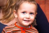 Happy kid smiling — Zdjęcie stockowe