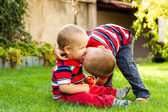 Brothers love — Stock Photo