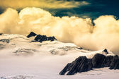 Cloudscape over Southern Alps in New Zealand — Stockfoto