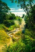 Flusso fumante in nuova zelanda — Foto Stock