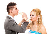 Hochzeitsfeier — Stockfoto