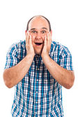 Happy surprised man — Stock Photo