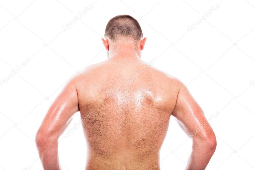 фото мужчины сзади