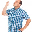 Pensive man gesturing — Stock Photo #25272503