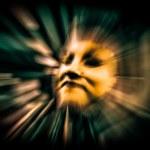 Futuristic cyber face — Stock Photo #46969573