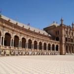 Spain Square, Seville, Spain — Stock Photo #12663376