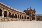Spain Square, Seville, Spain — Stock Photo