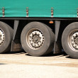 Truck wheel set — Stock Photo