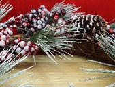背景圣诞装饰 — 图库照片