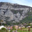 Archamps in mountainside in France — Stock Photo