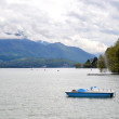 Lake Annecy in Annecy in France — Stock Photo #37122199