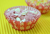 Candies to decorate cakes — Stock Photo
