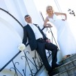Bride & Groom — Stockfoto
