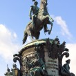 The monument to Nicholas I — Stock Photo