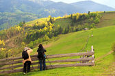 Landscape photography in Carpathians — Stock Photo