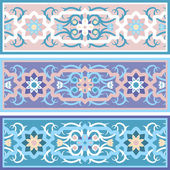Vector Traditional Muslim floral ornament — Stock vektor