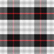Stock Vector: Vector seamless pattern Scottish tartan