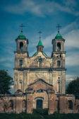 Trinity Church in the village of Benicia, Belarus — Stock Photo