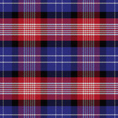 Vector seamless pattern Scottish tartan — Stock Vector