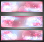 Set of web banners. Vector — Stock Vector