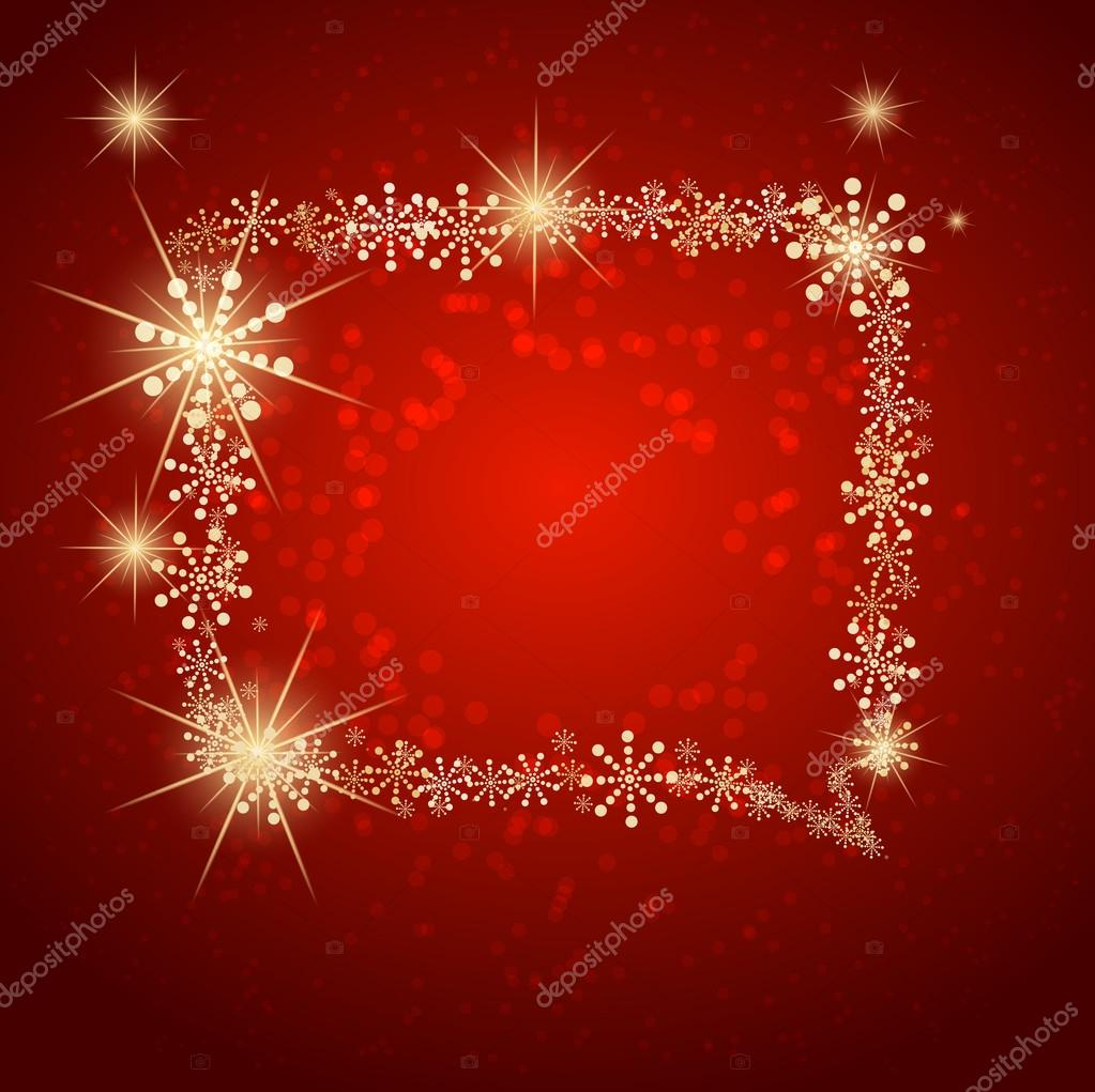 Christmas bubble made with snow. Vector  Stock Vector #12100374