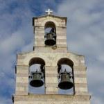 Bell tower. Montenegro. Budva — Stock Photo