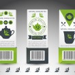 Set of tea labels. Vector — Stock Vector #14396531