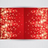 抽象的圣诞背景。矢量 — 图库矢量图片