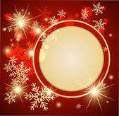 Abstract christmas background. Vector — Stock Vector