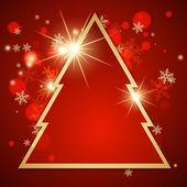 Abstract christmas card. — Stock Vector