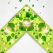 Abstract Eco background. Vector — ストックベクタ