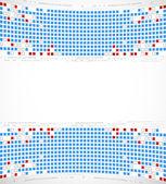 Pixel theme. Vector background. — Stock Vector