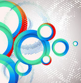 Abstract circle background. Vector — Stock Vector