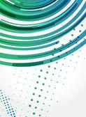 Resumen de antecedentes con líneas espirales. título para un negocio-pr — Vector de stock