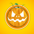 Vector de stock : Halloween background.