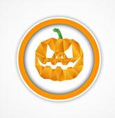 Halloween achtergrond — Stockvector